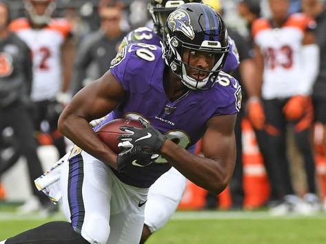 Ravens' WR Miles Boykin Quotes 8.21.20