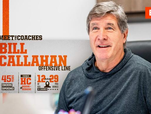Browns' OL Coach Bill Callahan Quotes 8.29.20
