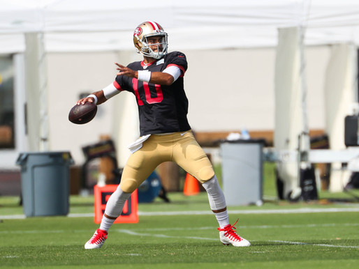 49ers' QB Jimmy Garoppolo Quotes 9.2.20
