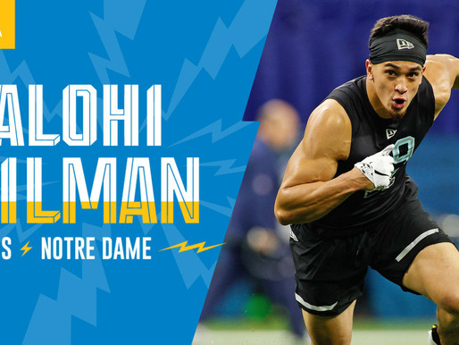 Chargers' S Alohi Gilman Quotes 4.25.20
