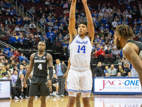 Pirates Win Ninth Straight and Remain Undefeated in Big East vs. Providence