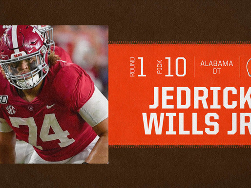 Browns' T Jedrick Wills Quotes 8.30.20