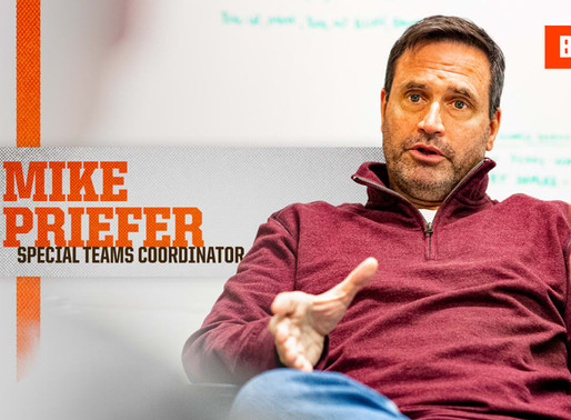 Browns' Special Teams Coordinator Mike Priefer Quotes 9.2.20
