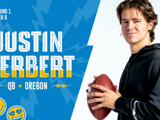 Chargers' QB Justin Herbert Quotes 4.23.20