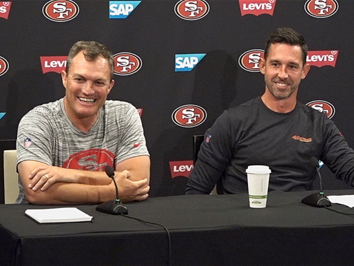 49ers' GM John Lynch and HC Kyle Shanahan Quotes 8.3.20