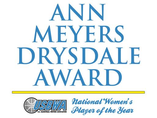 USBWA's Ann Meyers Drysdale Award Watch List Released
