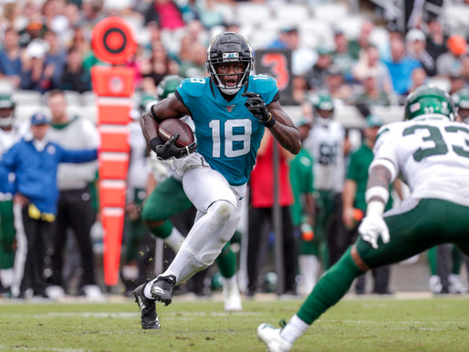 Jaguars' WR Chris Conley Quotes 8.16.20
