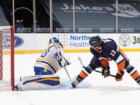 Islanders Edge: Barzal stellar, Isles defeat Sabres for 4th straight victory
