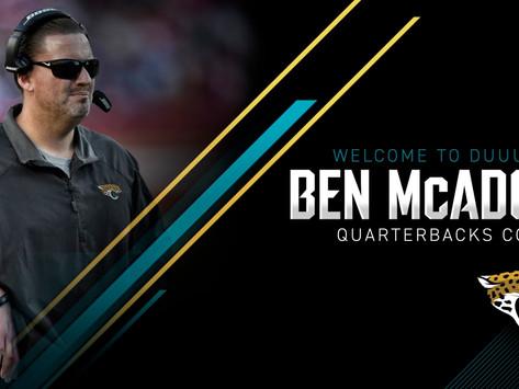 Jaguars' QB Coach Ben McAdoo Quotes 8.21.20