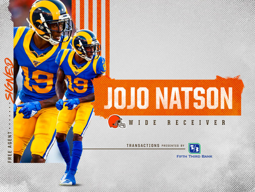 Browns' WR Jojo Natson Quotes 9.2.20