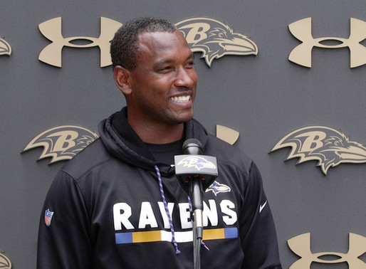 Ravens' TE Coach Bobby Engram Quotes 8.22.20