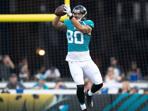 Jaguars' TE James O'Shaughnessy Quotes 8.18.20