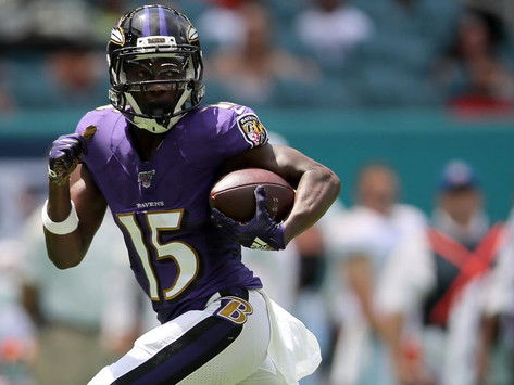 """Ravens' WR Marquise """"Hollywood"""" Brown Quotes 8.5.20"""
