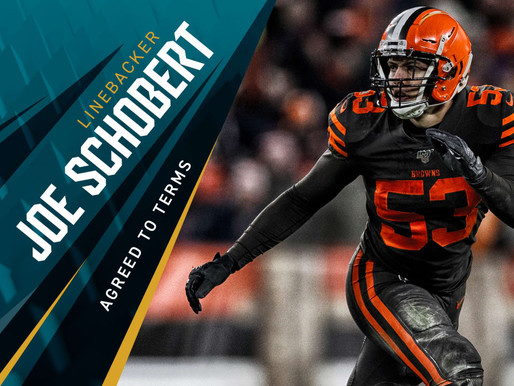 Jaguars' LB Joe Schobert Quotes 8.11.20