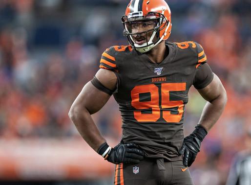 Browns' DE Myles Garrett Quotes 8.27.20