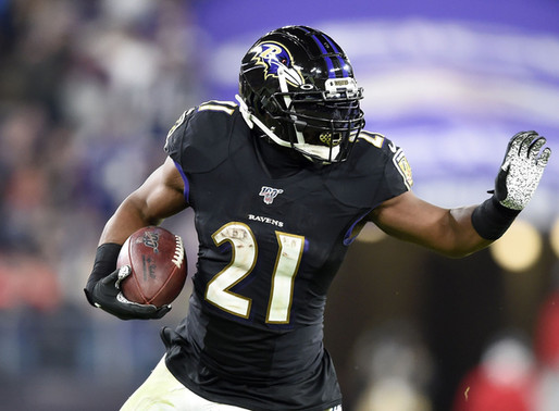 Ravens' RB Mark Ingram II Quotes 8.29.20
