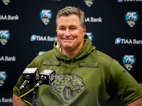 Jaguars' HC Doug Marrone Quotes 8.20.20