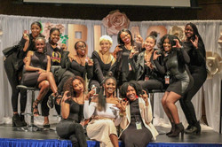 Hampton U Chapter at 2nd Annual Brand Like A Girl