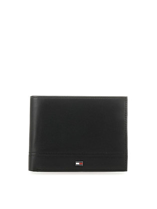 TOMMY HILFIGER TH ESSENTIAL CC FLAP AND COIN AM06164-BDS