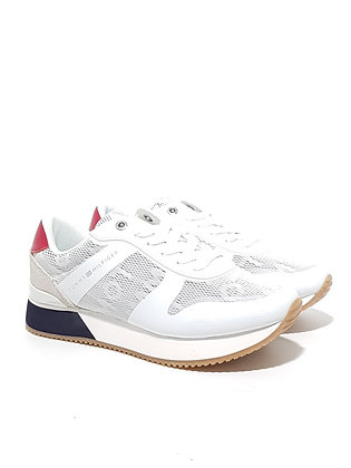 TOMMY HILFIGER TOMMY JACQUARD CITY SNEAKER FW0FW04026-020