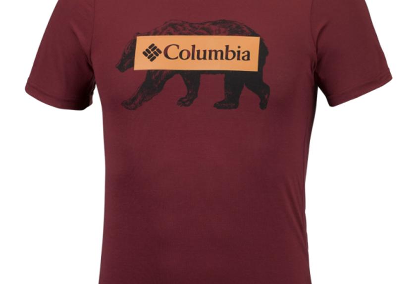 COLUMBIA BOX LOGO BEAR EM0745-615
