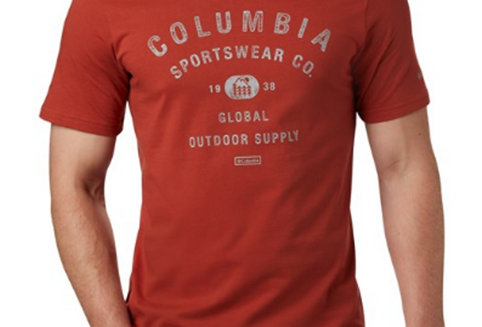 COLUMBIA M PATH LAKE GRAPHIC TEE 1888793-835