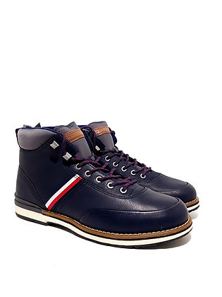 TOMMY HILFIGER OUTDOOR CORPORATE LEATHER BOOT FM0FM02534-CKI
