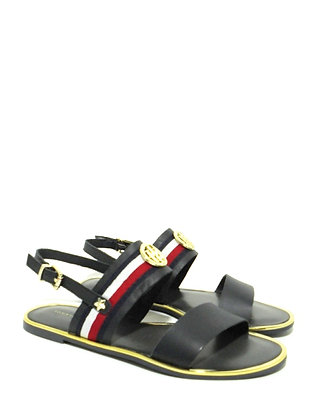 TOMMY HILFIGER FW0FW02811 CORPORATE RIBBON FLAT SANDAL