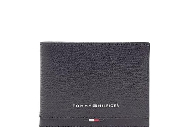 TOMMY HILFIGER BUSINESS LEATHER MINI CC WALLET AM0AM05842-BDS