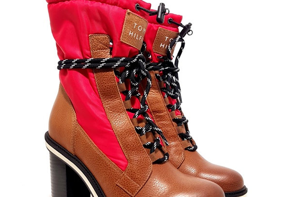 TOMMY HILFIGER FUN OUTDOOR NYLON BOOTIE FW0FW04345-681