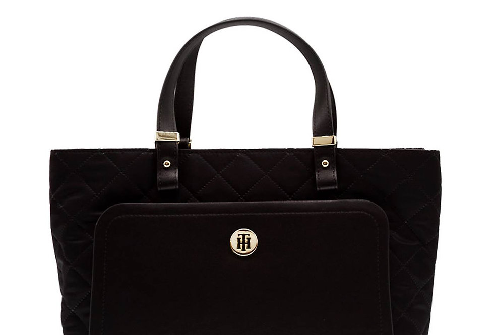 TOMMY HILFIGER TH ELEGANT TOTE QUILTED AW0AW07513-BDS