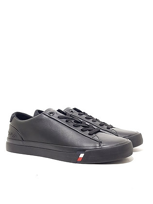 TOMMY HILFIGER CORPORATE LEATHER SNEAKER FM0FM02983-BDS
