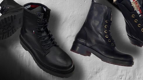 Combat boots collection