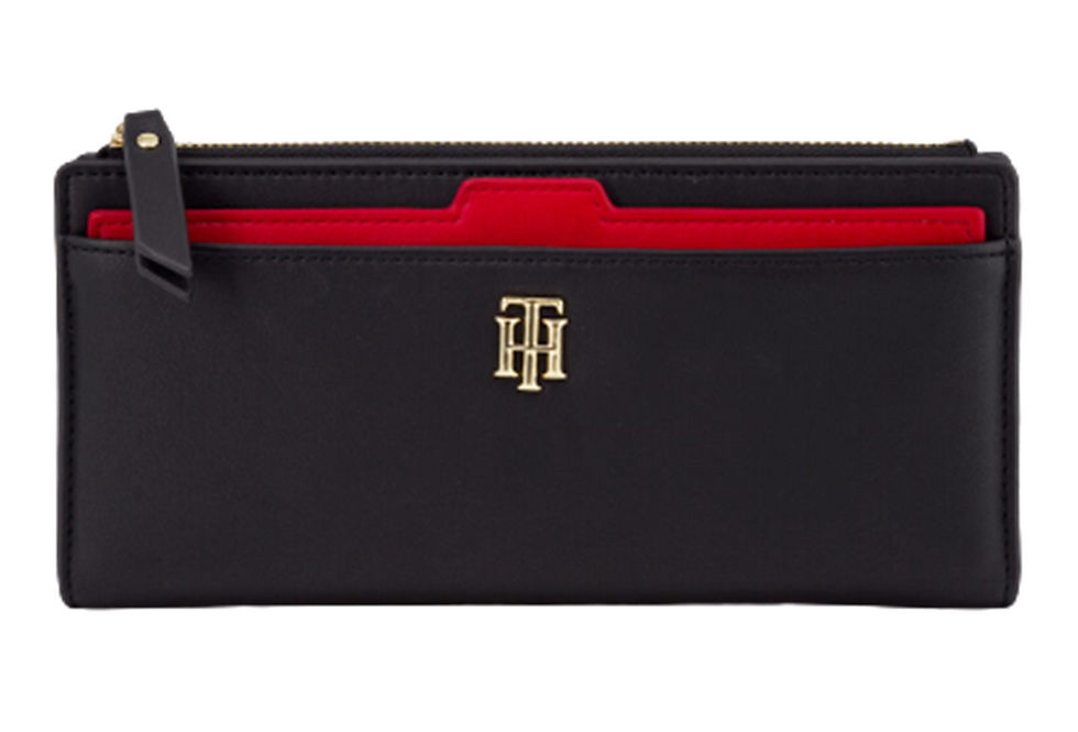 TOMMY HILFIGER TH SEASONAL SLIM WALLET AW0AW08917-CJM