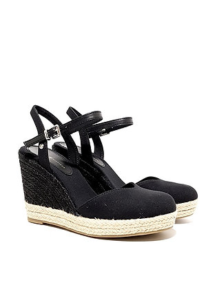 TOMMY HILFIGER BASIC CLOSED TOE HIGH WEDGE FW04786-BDS