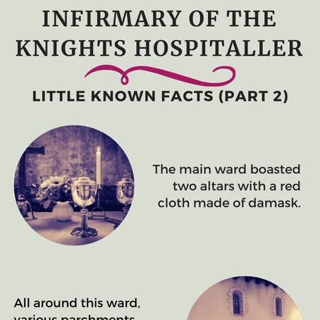 Inside of the Holy Infirmary of the Knights Hospitaller (Part 2)