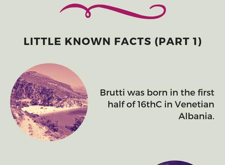 Bartolomeo Brutti - Italo-Albanian Adventurer: Little Known Facts (Part 1)
