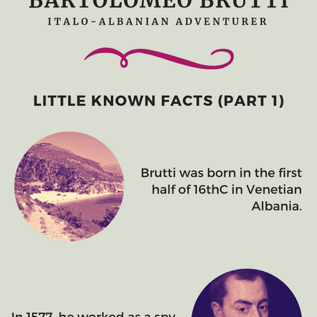 Bartolomeo Brutti - Italo-Albanian Adventurer: Little Known Facts (Part 1)