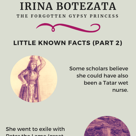 Irina Botezata - The Forgotten Gypsy Princess (Little Known Facts Part 2)