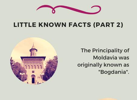 Moldavia - Little Known Facts (Part 2)