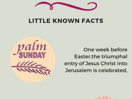 Orthodox Easter - Little Known Facts