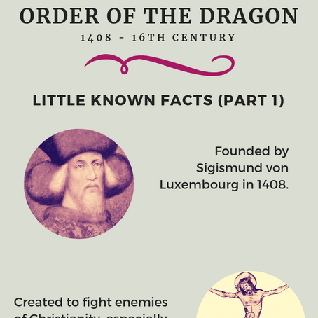 Order of the Dragon - Little Known Facts (Part 1)