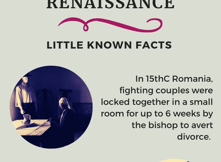 Divorce in the Renaissance - Little Known Facts