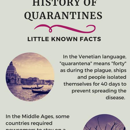 History of Quarantines