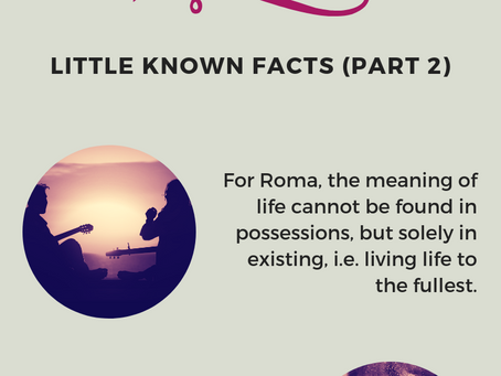 Romani People - Little Known Facts (Part 2)