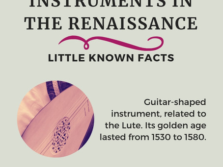 Musical Instruments Played in the Renaissance