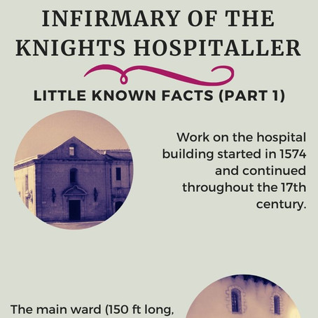 Inside of the Holy Infirmary of the Knights Hospitaller