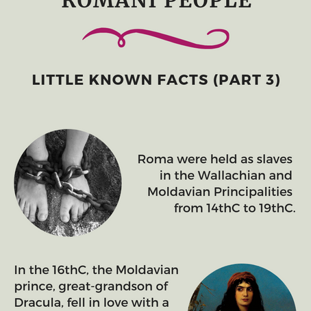 Romani People - Little Known Facts (Part 3)