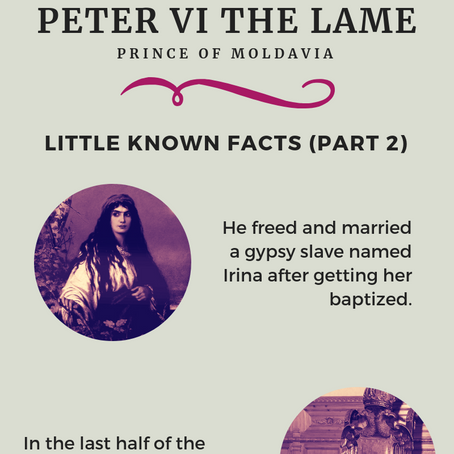 Little Known Facts About Peter The Lame (Part 2)