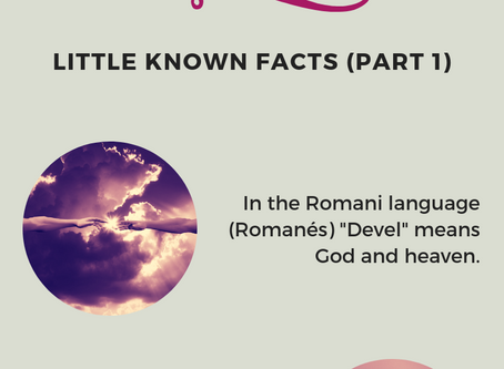 Romani People - Little Known Facts (Part 1)